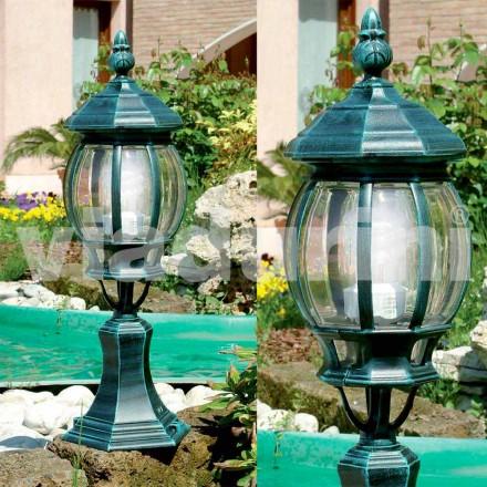 Lámpara de pie para jardín fabricada en aluminio, producida en Italia, Anika.