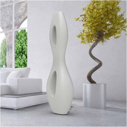 Lámpara de pie infinita de diseño moderno hecha en Italia