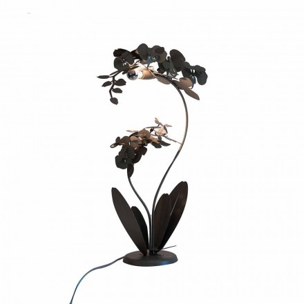 Lámpara de pie de hierro de diseño moderno Made in Italy - Amorpha
