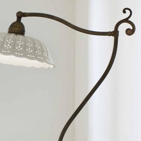 Lámpara de suelo de cerámica Art Nouveau Anita Il Fanale