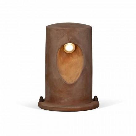 Lámpara de pie de exterior en U-Boat color arcilla - Toscot