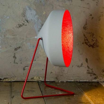 Lámpara de pie de diseño In-es.artdesign Cyrcus F Hormigón pintado