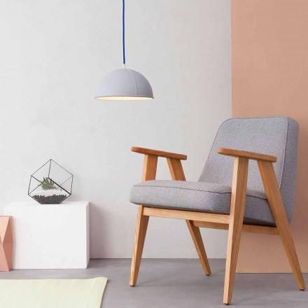 Lámpara colgante en laprene In-es.artdesign Pop 1 moderno
