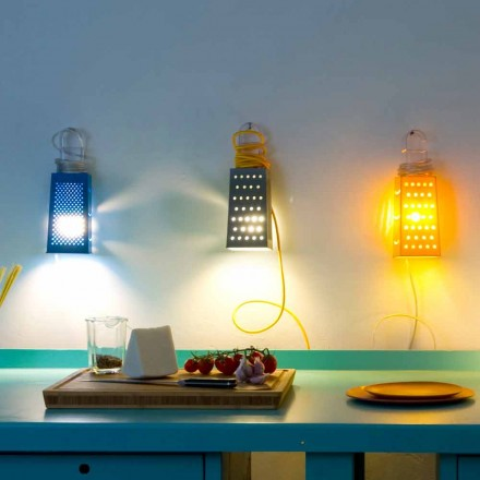 Lámpara de mesa laprene In-es.artdesign Modern Cacio & Pepe