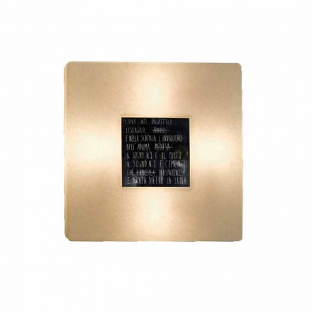 Lámpara de pared moderna In-es.artdesign Fragments 3 nebulite design