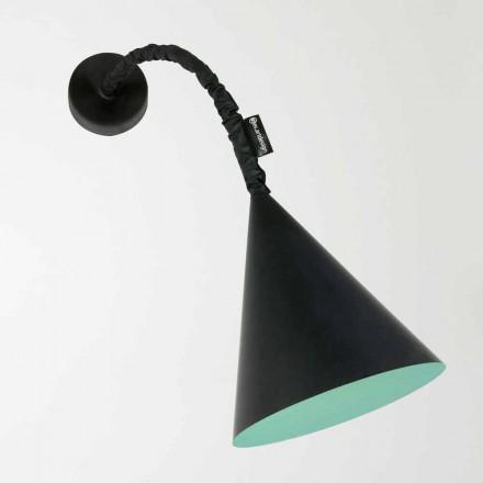 Lámpara de pared moderna In-es.artdesign Jazz con pizarra de resina