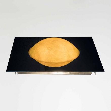 Lámpara de pared moderna In-es.artdesign Washmachine in nebulite