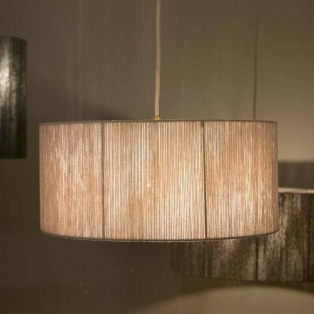 Lámpara de techo moderna en lana hecha en Italia Evita