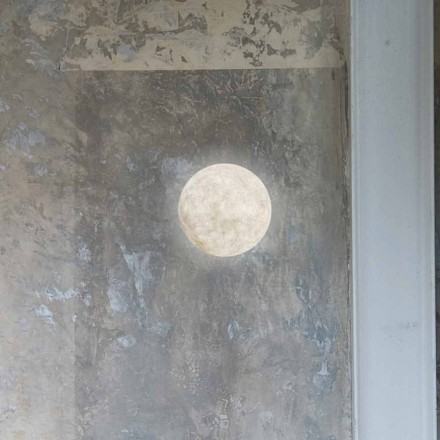 Lámpara de pared moderna In-es.artdesign A. Moon en nebulita