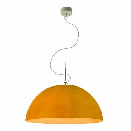 Lámpara moderna In-es.artdesign Mezza Luna nebulita suspendida
