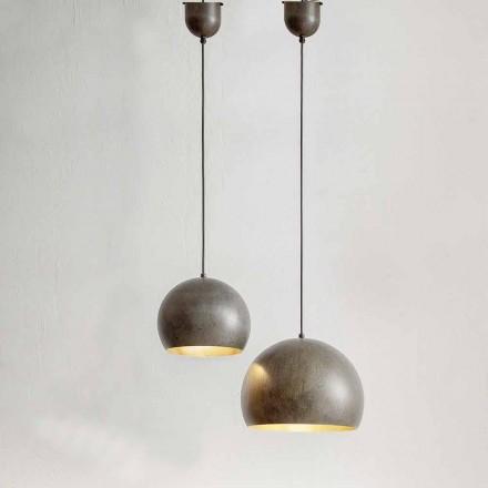 Lámpara suspendida en acero Diámetro 300 o 400 mm - Materia Aldo Bernardi