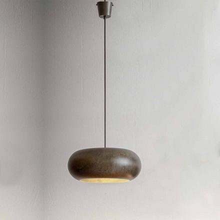 Lámpara Suspendida en Acero Diámetro 500 mm - Materia Aldo Bernardi