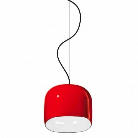 Lámpara de suspensión de estilo moderno en cerámica hecha en Italia - Ferroluce Ayrton