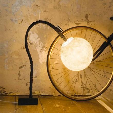 Lámpara de pie flexible In-es.artdesign Micro Luna nebulita