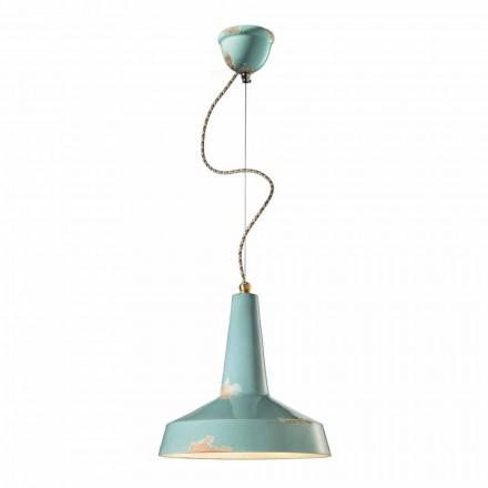lámpara de estilo retro suspensión hecha Ferroluce