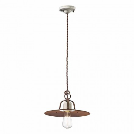 estilo industrial Ferroluce lámpara colgante
