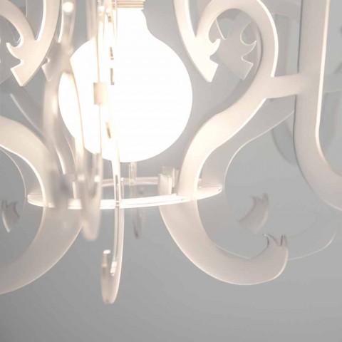 Araña de plexiglás de diseño moderno producida en Italia, Malito