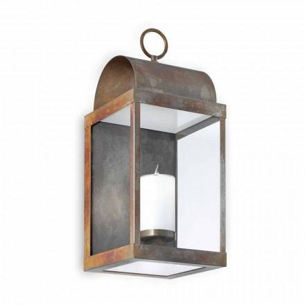 Linterna de pared para exteriores hierro o latón Il Fanale