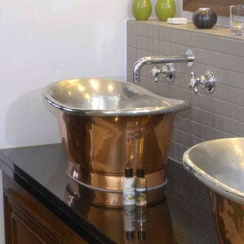 Lavabo del baño para apoyar el cobre y el hierro blanco Cala
