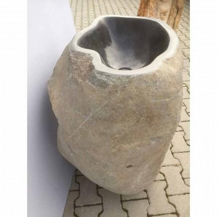 Lavabo de diseño de piedra natural Mare