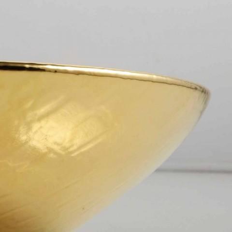 Lavabo sobre encimera de cerámica de diseño realizado en Italia Animals