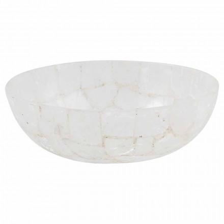 Lavabo sobre encimera de piedra de diseño - Baceno