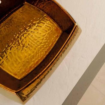 Lavabo de diseño en cerámica de bronce hecho en Italia Simon