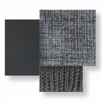 Cama doble apilable de jardín de aluminio y tela - Panama Talenti