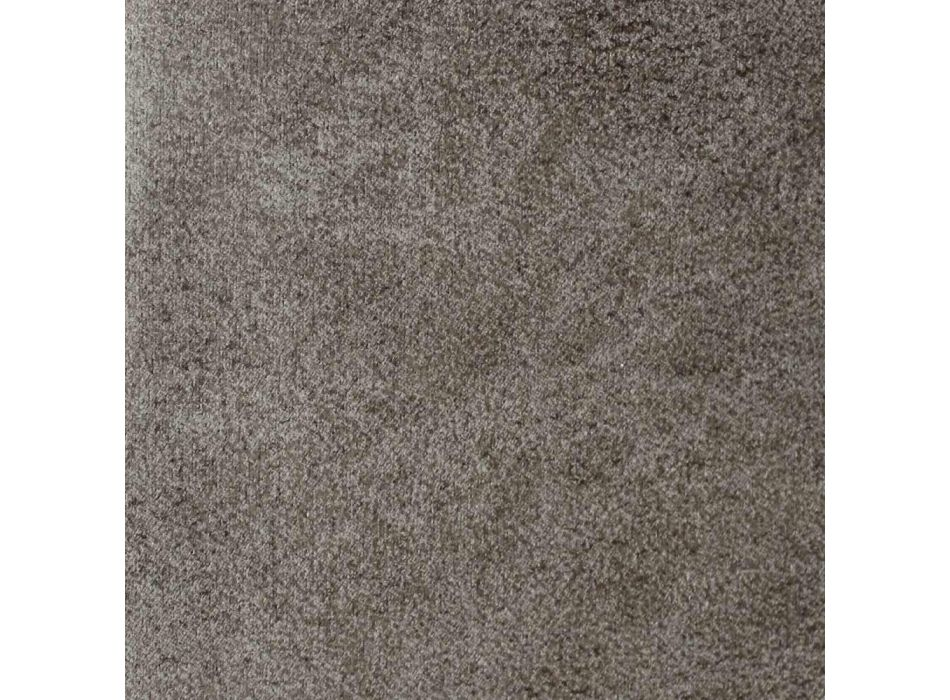 Cama doble con caja y cabecera King Size en tela o piel sintética - Ponente