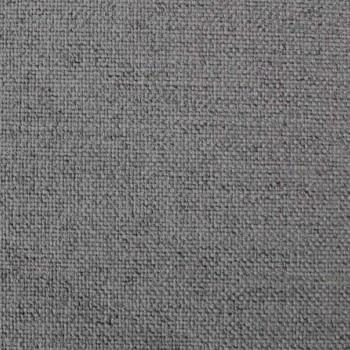 Cama doble con caja y cabecera lisa de tela Made in Italy - Nives
