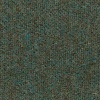 Cama doble con caja tapizada en tejido Corolle de Bolzan