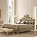 Cama doble con cama contenedor, diseño clásico, Chantal by Bolzan