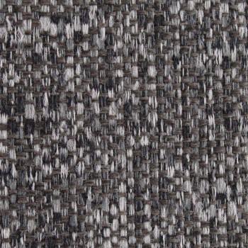 Cama doble con contenedor de tela bicolor Made in Italy - Jasmine