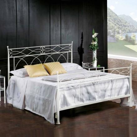 Diseño de cama doble de hierro forjado hecho a mano Sydney