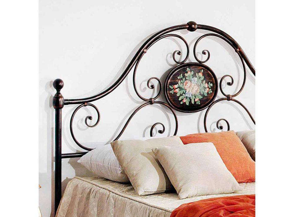 cama doble con forjado artesanal del hierro del diseño Alexa
