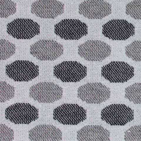 Cama doble de lujo con caja en tela de dos tonos Made in Italy - Gagia