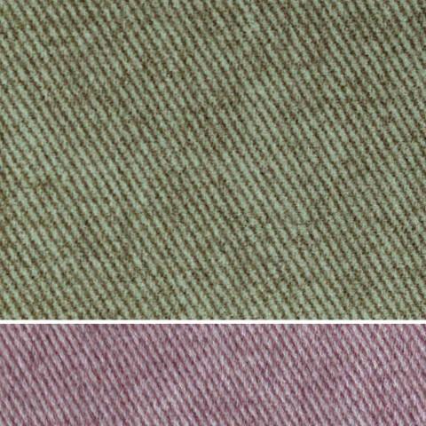 Cama doble acolchada de tela o piel sintética con caja Made in Italy - Miss