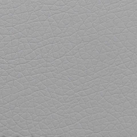 Cama doble en piel sintética con caja y cabecero liso Made in Italy - Arturo