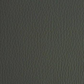 Cama doble de cuero sintético con pies de madera Made in Italy - Perzio