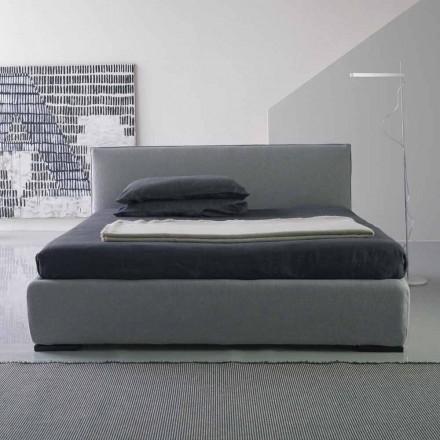 Cama matrimonial moderna, sin contenedor de cama, Gaya New by Bolzan