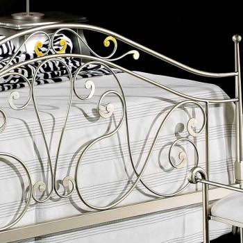 cama doble neoclásico en plena Jessica hierro forjado a mano