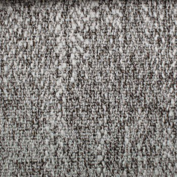 Cama de matrimonio de diseño redondo cubierta con tela Made in Italy - Rello