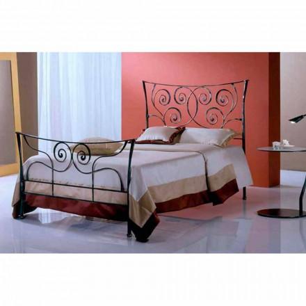 Una cama de plaza y media Hierro forjado Ares