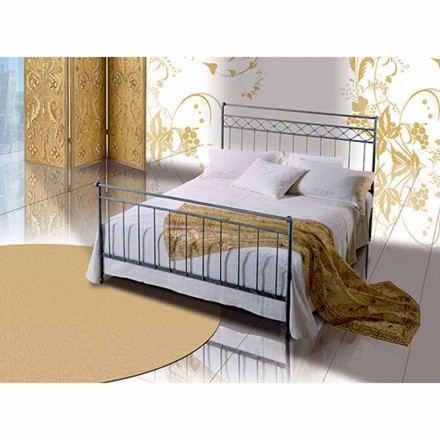 Una cama de plaza y media Hierro forjado Hefesto