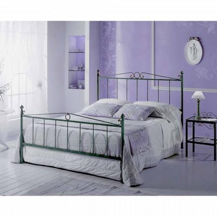 Una cama de plaza y media Hierro forjado Fauno