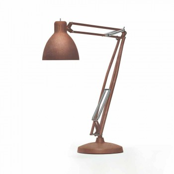 Leucos La lámpara de pie al aire libre Grande JJ en el diseño de aluminio