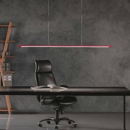 Leucos Volta 360 ° lámpara de suspensión ajustable con atenuador táctil