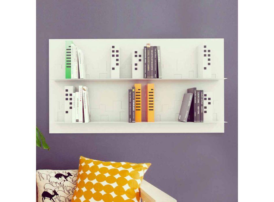 Biblioteca en Hang Skyline 130x70 Mabele
