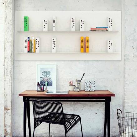 Pared Librería Horizonte 186x86 Mabele