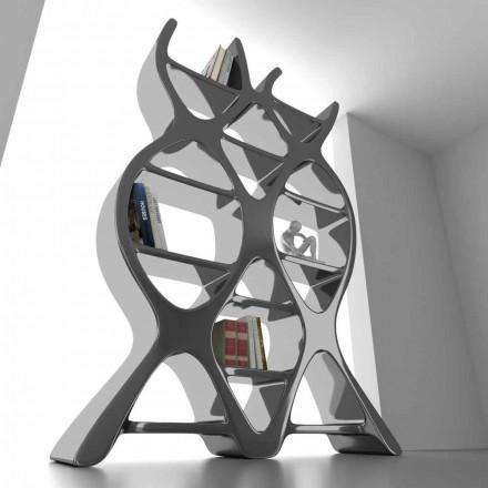 Librería de suelo de diseño contemporáneo en Solid Surface DNA